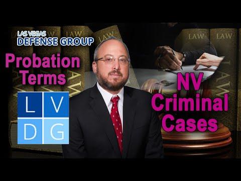 Probation Violations in Nevada
