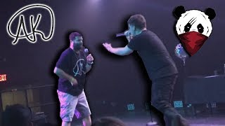 AK (IAMTHEREALAK) Live Concert in NJ! (Fan Performs on Stage) …