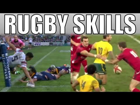 Compilation: BEST RUGBY SKILLS!!! Union & League