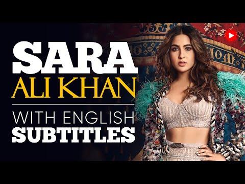 ENGLISH SPEECH   SARA ALI KHAN: Be Your Best Self (English Subtitles)