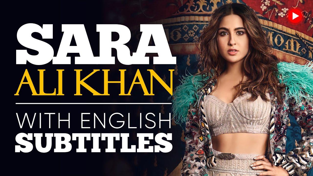 ENGLISH SPEECH | SARA ALI KHAN: Be Your Best Self (English Subtitles)