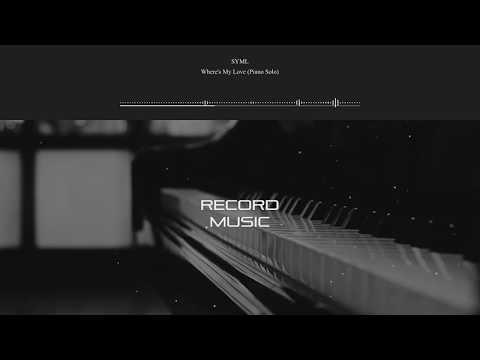 Where's My Love(Piano Solo) - SYML   RecordMusic (Descarga/Download)