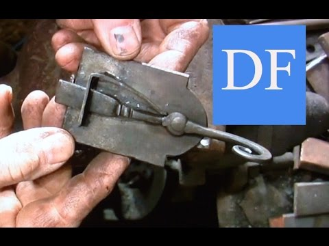 Blacksmithing Project - Forging a Simple Spring Latch