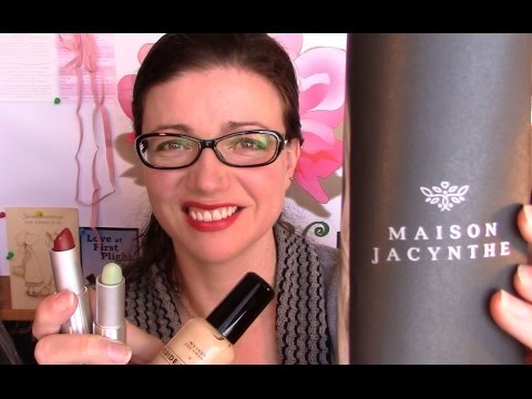 Maison Jacynthe Cosmetics Review Tested on Rosacea and Sensitive Skin (not sponsored)| Rosy JulieBC