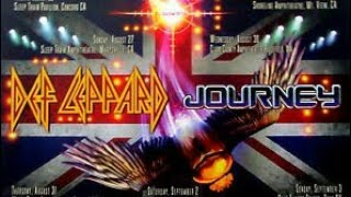 Journey - Def Leppard Tour Is Finally Official