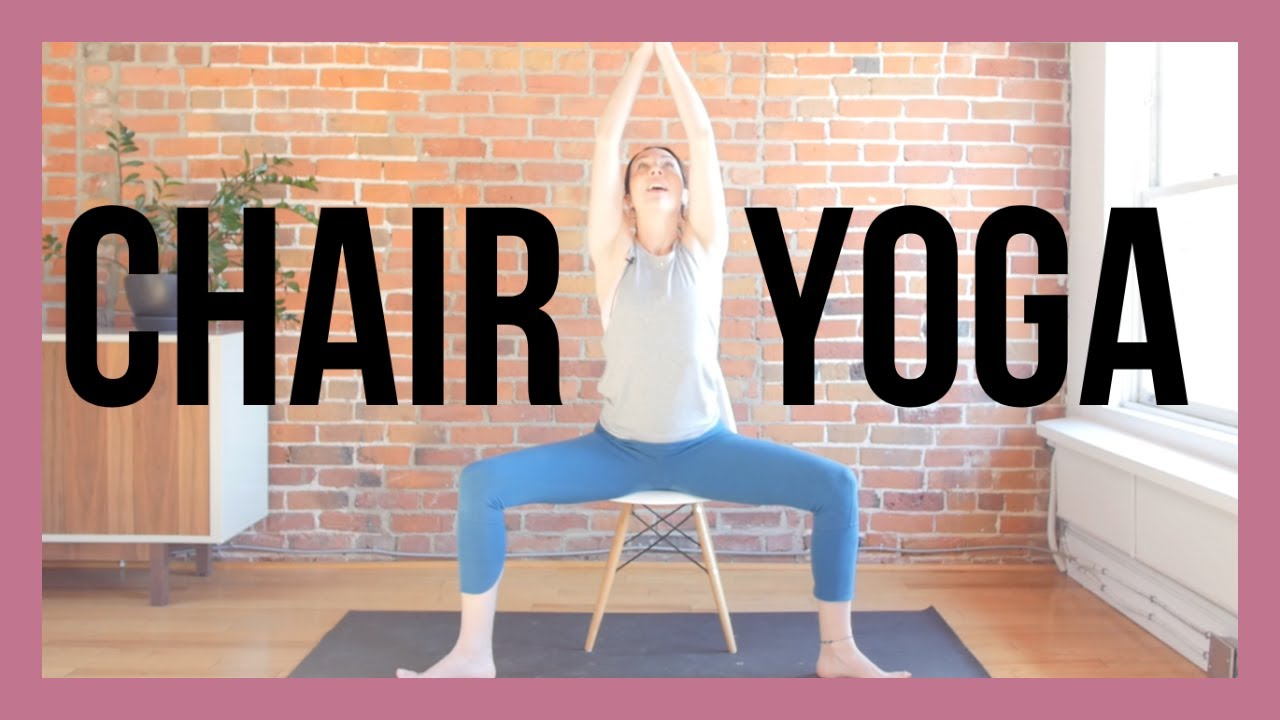 Gentle Chair Yoga For Beginners And Seniors Yoga Videos