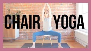 Gentle Chair Yoga for Beginners and Seniors