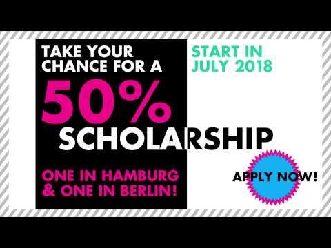 50% Scholarship in Q3_start in July/2018