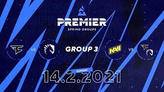 Faze vs Team Liquid, NAVI vs Faze Clan | BLAST Premier Spring Group 3 Day 3