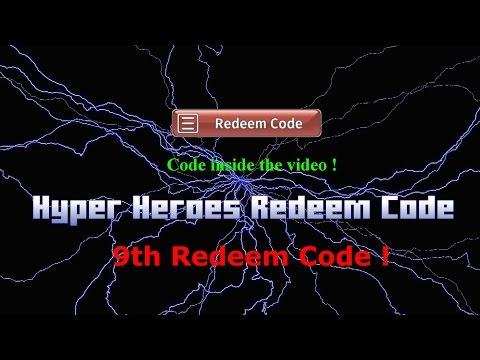 Hyper Heroes 9th Free Redeem Code