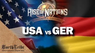 USA vs GERMANY (Rise of Nations Extended Edition gameplay)