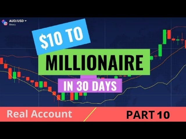 Adnan $10 To Millionaire Strategy 2019   With Real Account Part 10