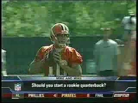 Mike & Mike talk about Brady Quinn