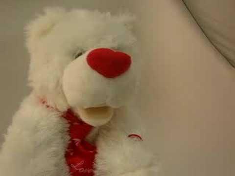 Singing Valentine Bear