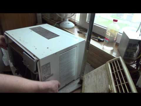 Как чистить оконный кондиционер в домашних условиях видео