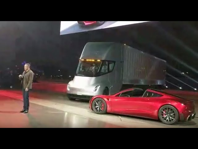 Tesla's Electric Semi Priced at $150,000, With Long-Range Version at