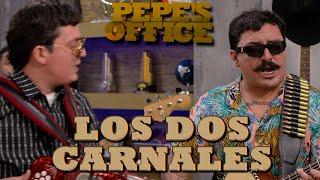 LOS DOS CARNALES LLEGAN A USA, POR PRIMERA VEZ EN LA OFICINA - Pepe's Office