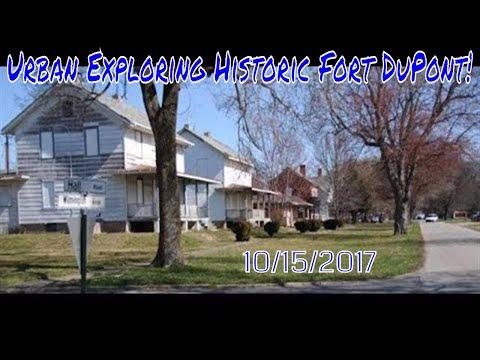 Urban Exploring Historic Fort DuPont 10/15/2017