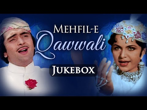 Bollywood Qawwali Songs {HD} JUKEBOX | Mehfil|E|Qawwali | Evergreen Old Hindi Qawwali Songs