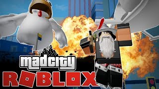 THE BEST COPS IN MAD CITY! Roblox UK