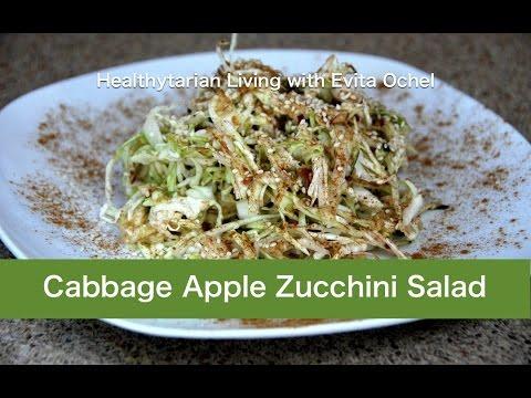 Cabbage-Apple-Zucchini Salad: Nutrition Info & Recipe