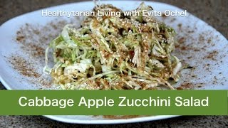 Cabbage-apple-zucchini Slaw Salad Recipe + Nutrition Benefits & Tips