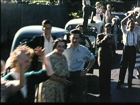 1956 Marathon Colour Footage Melbourne Olympics