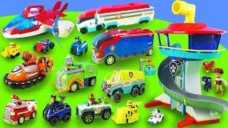 1 Stunde Spaß mit Paw Patrol: Aussichtsturm, Mighty Pups Spielzeugautos, Feuerwehrmann Marshall Toys