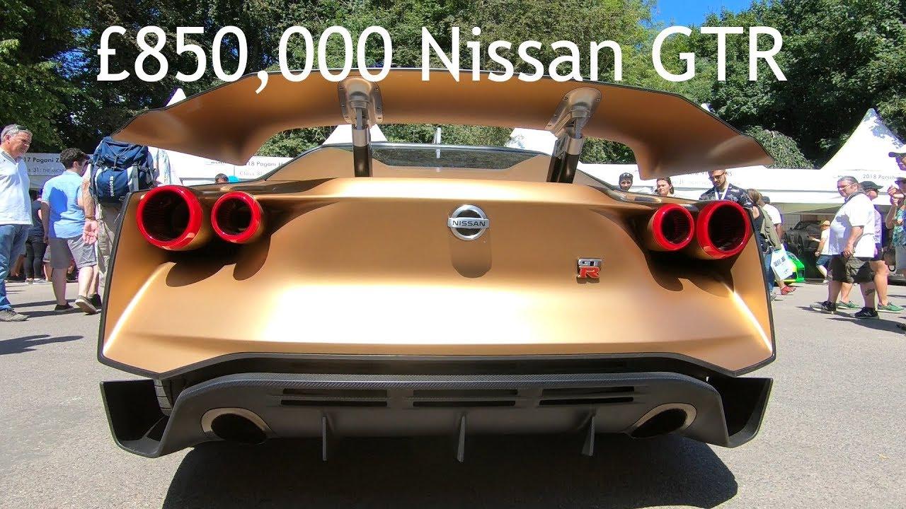 Nissan Gtr50 By Italdesign Engine Running And Revving Youtube