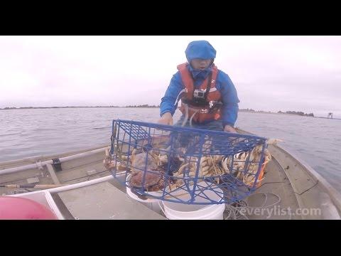 Crabbing on the Oregon Coast