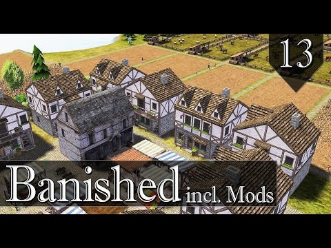 Banished incl. Mods - Hill Valley - Ep. 13 - New harbor/traders!