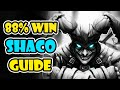 Insane 88% win SHACO GUIDE by KR MASTERS ONE-TRICK