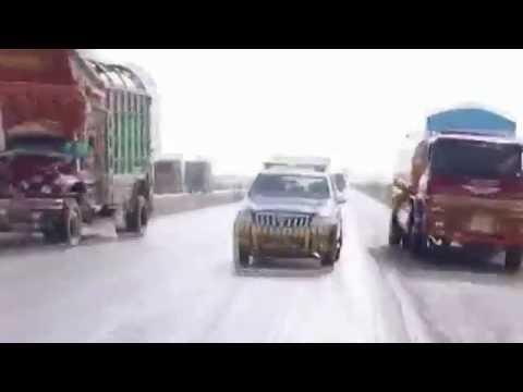 Accident on Super Highway M9, Hyderabad, Sindh Pakistan