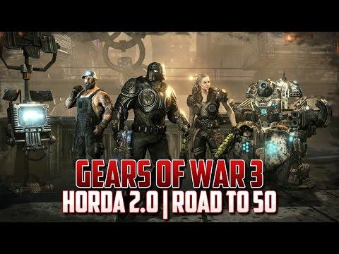 Gears of War 3 | Horda 2.0 | Road to 50 oleadas!!