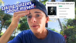 Taking Online Quizzes About Myself | Noah Schnapp