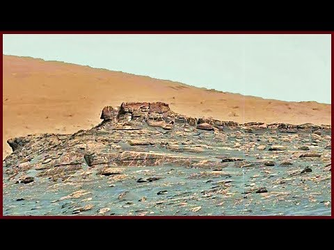 Civilization on Mars - Panorama 1.5x Zoom (HD 1080p) - Curiosity Sol 1732 ML