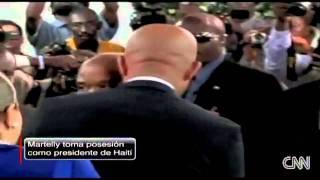 El nuevo Presidente de Haiti - Michel Martelly - (14 Mayo del 2011)