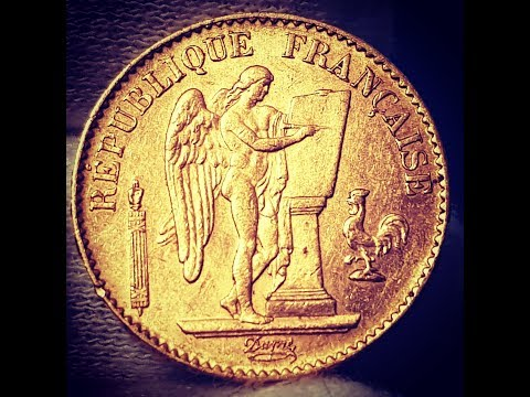 Lucky Angel gold coin