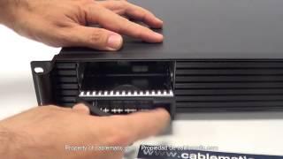 Caja rack19 IPC ATX 1.5U F280mm RackMatic® distribuido por CABLEMATIC ®(Puede comprarlo en: http://www.cablematic.es/producto/Caja-rack19-IPC-ATX-1_dot_5U-F280mm-RackMatic/ Chasis RackMatic de 19