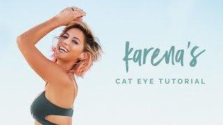 How To Do A Fierce Purple Cat Eye ~ New Beauty Tutorial