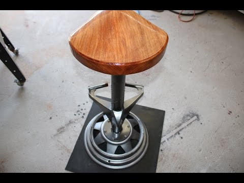Bar Stool Industrial Style