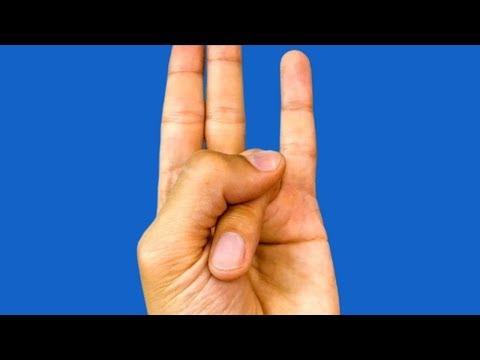Parmağınızı Bu Şekilde Tutun ( Ne Olduğuna İnanamayacaksınız )