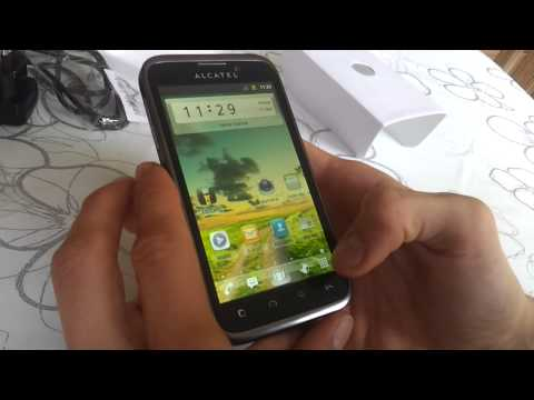 Alcatel one touch 995 Ultra Unboxing