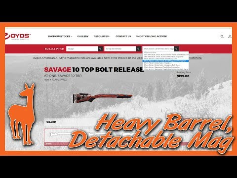 """Ruger American Bottom Metal! Boyds Stocks has a New Savage Inlet! Plus a New 22-250 12FV 1:8""""!"""