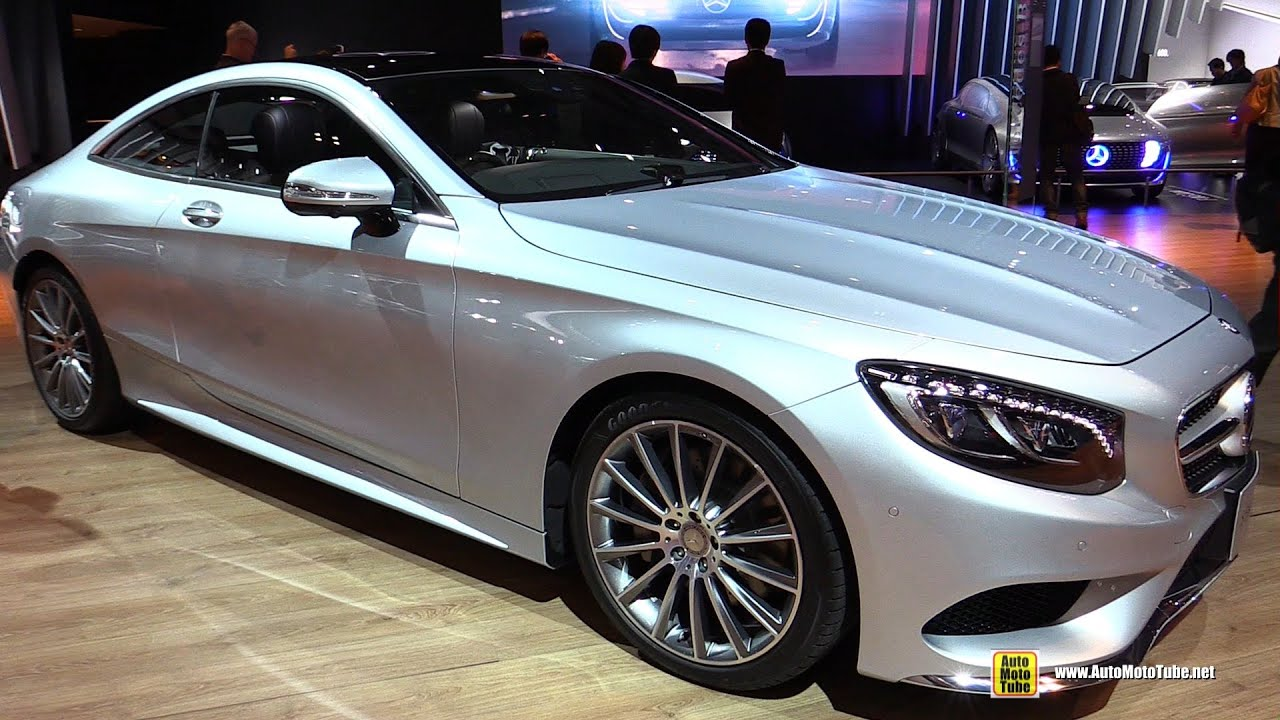 2016 Mercedes S Cl S550 Coupe Exterior And Interior Walkaround 2017 Tokyo Motor Show
