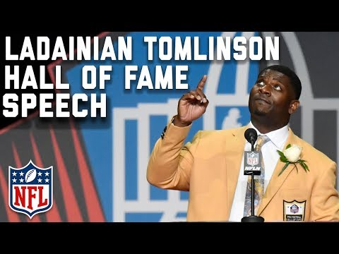 LaDainian Tomlinson's Hall of Fame Speech | 2017 Pro Football Hall of Fame | NFL