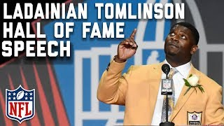 LaDainian Tomlinson's Hall of Fame Speech | 2017 Pro Football Hall of Fame | NFL thumbnail