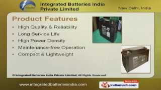 Panasonic SMF Vrla Batteries by Integrated Batteries India Private Limited New Delhi
