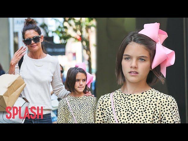 Suri Cruise is All Grown Up in New York City   Splash News TV