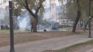 Disturbios junto al Parlamento de Ecuador, la Bastilla de la lucha indígena